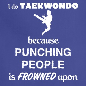 Taekwondo Love Gift- cool shirt,geek hoodie,tank - Adjustable Apron