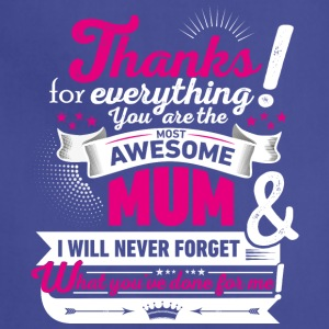 Mothers day! Thank you - Adjustable Apron