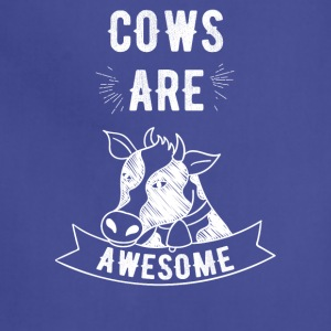 Cows are awesome - Adjustable Apron