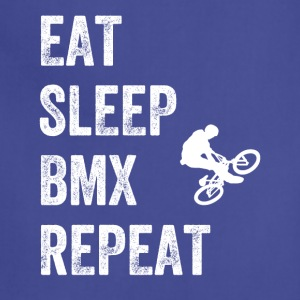 Eat sleep bmx repeat - Adjustable Apron