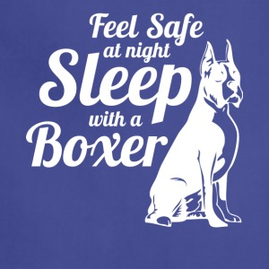 Feel Safe At Night Sleep With A Boxer Dog - Adjustable Apron