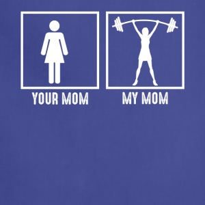 My Mom Loves Gym - Adjustable Apron
