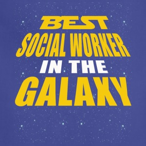 Best Social Worker In The Galaxy - Adjustable Apron