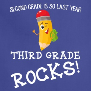 second grade is so last year, third grade Rocks! - Adjustable Apron