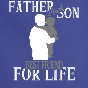 Father And Son Best Friend For Life T Shirt - Adjustable Apron
