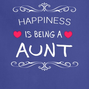 Happiness Is Being a AUNT - Adjustable Apron