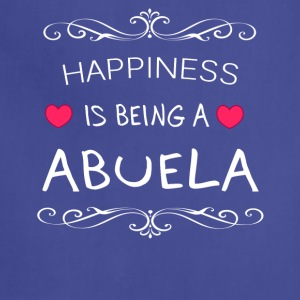 Happiness Is Being a ABUELA - Adjustable Apron