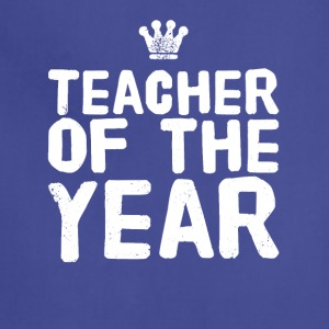 teacher of the year - Adjustable Apron