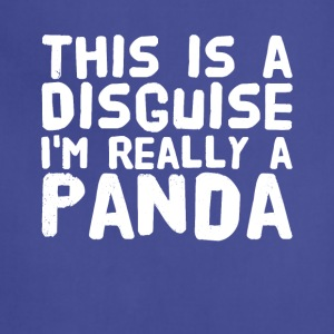 This is a disguise i'm really a panda - Adjustable Apron