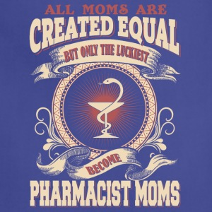 The Luckiest Become Pharmacist Moms - Adjustable Apron