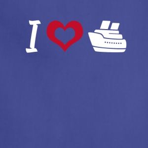 I love to cruise T-shirt - Adjustable Apron