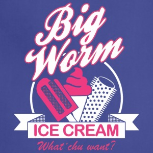 BIG WORM ICE CREAM - Adjustable Apron