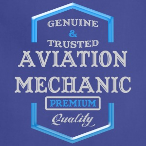 Aviation Mechanic Logo - Adjustable Apron