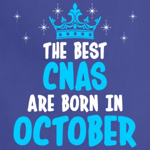 The Best CNAS Are Born In October - Adjustable Apron