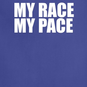 MY RACE MY PACe T shirt - Adjustable Apron