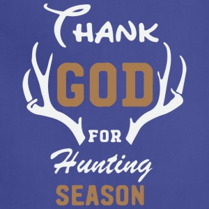 Thank God for hunting season1 - Adjustable Apron