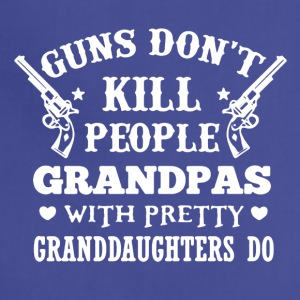 Grandpas Pretty Granddaughters Tee Shirt - Adjustable Apron