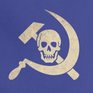 Cool golden skull with hammer and sickle - Adjustable Apron