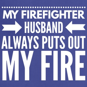 My firefighter husband - Adjustable Apron