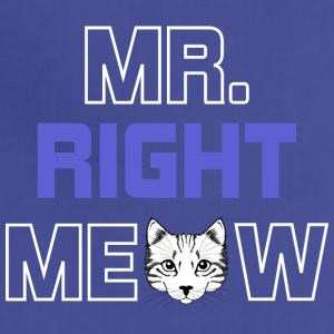 CAT MR. RIGHT MEOW SHIRT - Adjustable Apron
