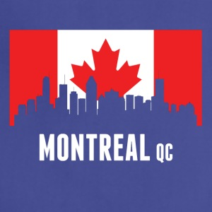 Canadian Flag Montreal Skyline - Adjustable Apron