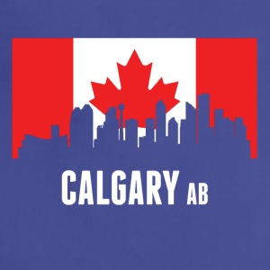 Canadian Flag Calgary Skyline - Adjustable Apron