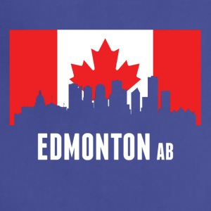 Canadian Flag Edmonton Skyline - Adjustable Apron