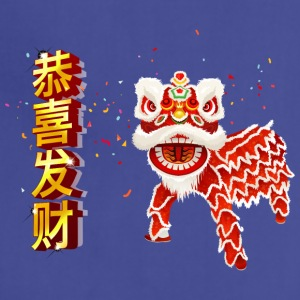 happy_chinese_new_year_with_dragon - Adjustable Apron