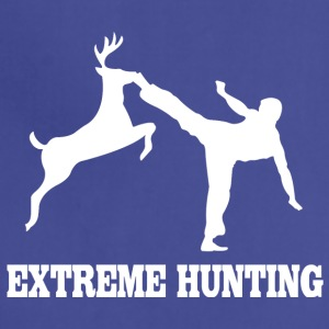 Extreme hunting deer karate kick - Adjustable Apron