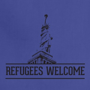 refugees welcome - Adjustable Apron