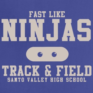 Fast Like Ninjas Track Field Santo Valley High S - Adjustable Apron