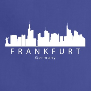 Frankfurt Germany Skyline - Adjustable Apron