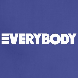 Everybody White - Adjustable Apron