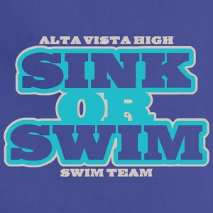 ALTA VISTA HIGH SINK OR SWIM SWIM TEAM - Adjustable Apron