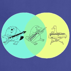 Keytar Platypus Venn Diagram - Adjustable Apron