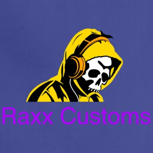 SKULL RAXX CUSTOMS logo yellow - Adjustable Apron