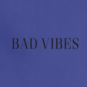 Bad Vibes Simple Logo - Adjustable Apron