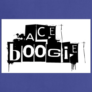 official logo for rap star Ace Boogie - Adjustable Apron