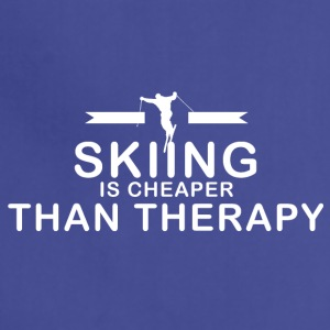 Skiing is cheaper than therapy - Adjustable Apron