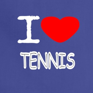 I LOVE TENNIS - Adjustable Apron