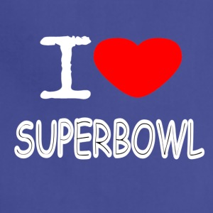 I LOVE SUPERBOWL - Adjustable Apron