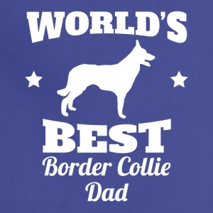 Worlds Best Border Collie Dad - Adjustable Apron