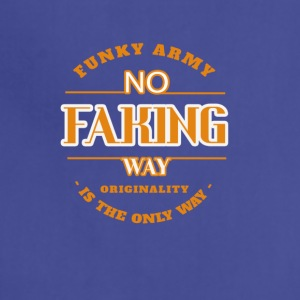 No Faking Way - Adjustable Apron