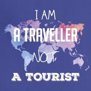 I am a traveller not a tourist - Adjustable Apron