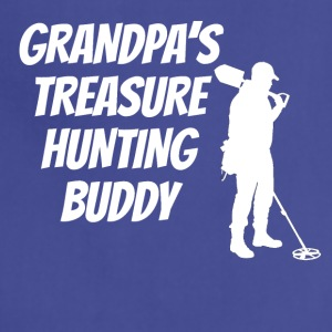 Grandpa's Treasure Hunting Buddy - Adjustable Apron