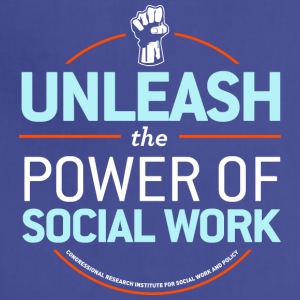 Unleash the Power of Social Work - Adjustable Apron