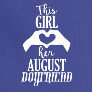 This Girl loves her August Boyfriend - Adjustable Apron