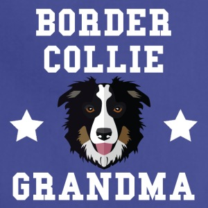 Border Collie Grandma Granddog - Adjustable Apron