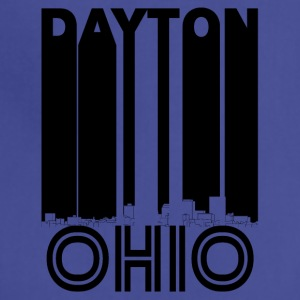 Retro Dayton Ohio Skyline - Adjustable Apron