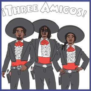 3 Amigos - Adjustable Apron